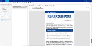 Moderner und intuitiver Webmailer
