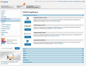 1-Klick-Installer: Strato AppWizard zum einfachen Installieren von Apps
