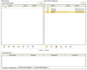Strato Web-FTP